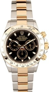 Rolex Daytona Two Tone 116523 Black