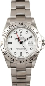 Used Rolex Explorer II 16570-BKSO