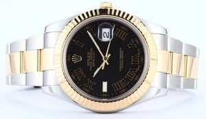 Men's Rolex DateJust 41mm Roman Dial 116333