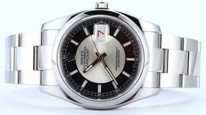 Rolex Datejust 116200 Concentric Dial