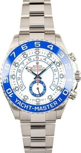 Rolex Stainless Yachtmaster II 116680 Blue