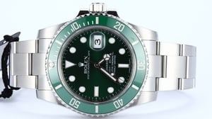 Green Rolex Submariner 116610V Ceramic