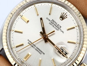Rolex Vintage Datejust 1601 Leather Band