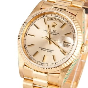 Rolex Day Date 18238 Champagne Dial