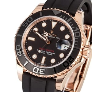 Rolex Rose Gold Yachtmaster 116655