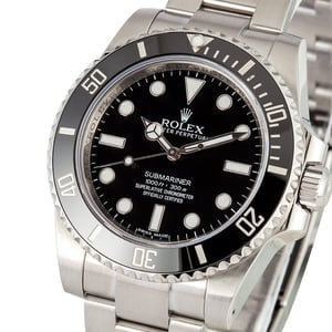 Submariner Rolex No Date 114060