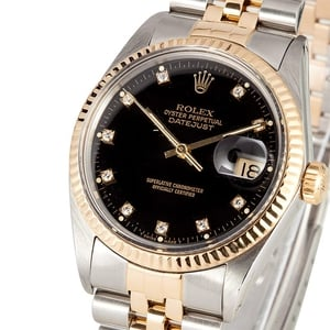 PreOwned Rolex Diamond Datejust 16013