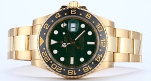 18K Yellow Gold GMT Master II 116718