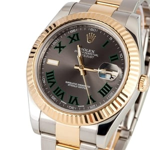 Rolex Datejust II 116333 Slate Dial - Certified Pre-Owned