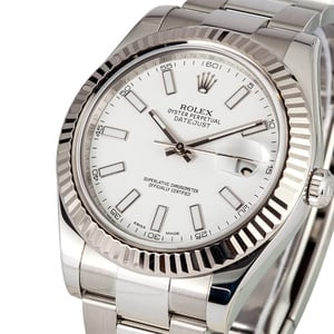 Rolex DateJust II 41MM with White Dial 116334