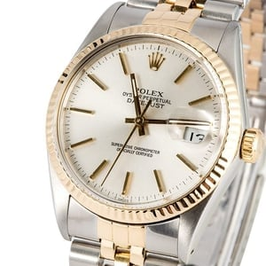 Rolex Datejust 16013 Silver Dial