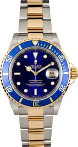 Rolex Blue Submariner 16613 x