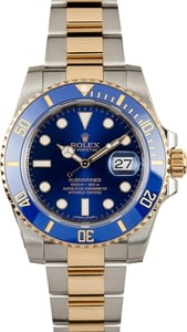Men's Rolex Submariner 116613 Blue Two-Tone