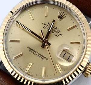 Rolex Datejust 16013 Leather Band