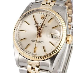 Datejust Rolex 16013 Two Tone