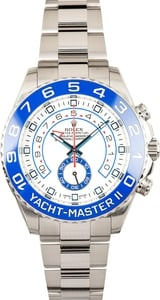 Rolex Stainless Yachtmaster II