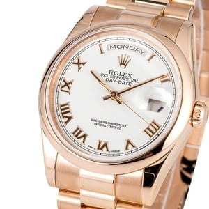 Rolex Presidential Day-Date Rose Gold 118205