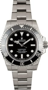 Rolex Submariner 114060 No Date Watch