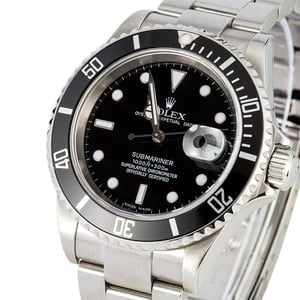 Rolex Submariner 16610T Stainless Steel Watch