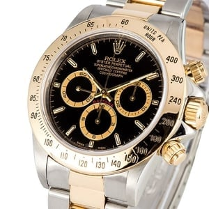 Rolex Daytona Black Dial 16523 Two Tone