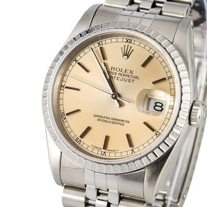Rolex Datejust 16220 Stainless Steel