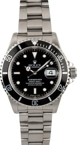 Submariner Rolex Stainless Steel 16610