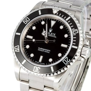 Rolex No Date Submariner 14060 Certified Pre-Owned