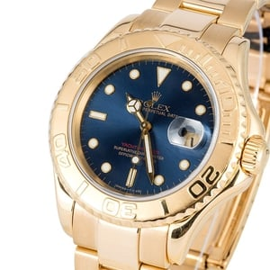 TT Yellow Gold Blue Dial 16628
