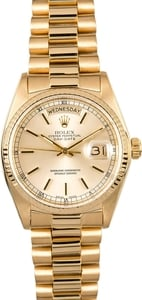 Rolex Presidential Day-Date 18038 Certified Pre-Owned