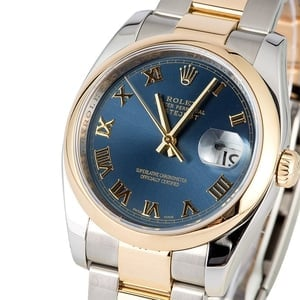 Rolex Datejust 116203 Blue Roman