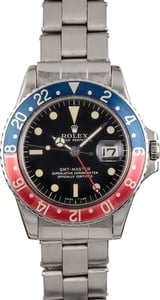 Vintage 1966 Rolex GMT-Master 1675 Glossy Dial