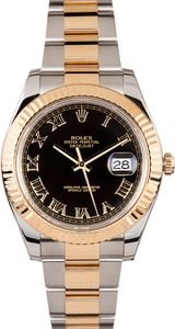Rolex Datejust II 41mm Black Dial 116333