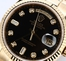 Rolex President 118238 Black Diamond Dial