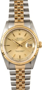 Rolex Two-Tone Datejust 16233 Jubilee