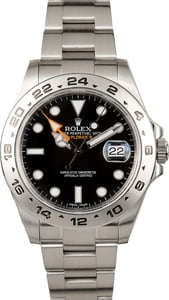 Rolex Black Explorer II 216570