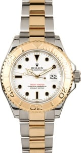 Rolex Men's Yacht-master Stainless Steel and Gold 16623