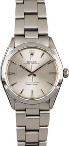 Rolex Vintage Oyster Perpetual 1002 Silver