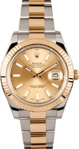 Men's Rolex Datejust II 116333 Factory Stickers
