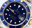 Two Tone Submariner 16613 Blue