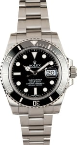 Rolex Oyster Perpetual Submariner 116610 Dive Watch