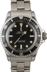 Rolex 5513 Meters First