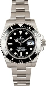 PreOwned Rolex Submariner 116610 Stainless Steel Oyster