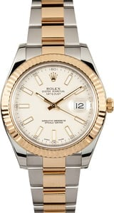 Rolex Datejust 41MM Two-Tone Ivory