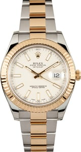 Unworn Rolex Datejust 41MM Two-Tone