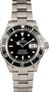 Rolex Submariner Stainless Steel 16610 Oyster Band