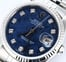 Rolex Datejust 16234 Diamond Sodalite Dial