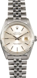 Rolex Datejust 16014 Stainless Certified Pre-Owened
