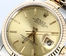 Two-Tone Rolex Datejust 16233 Champagne Dial