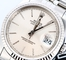 Rolex Datejust 16234 Silver Tapestry Dial