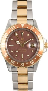 Men's Rolex GMT-Master Model 1675 Rootbeer